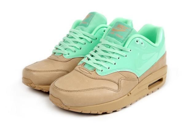Nike Air Max 1 VT QS Womens Size Shoes Vachetta Tan Arctic Green 615868 201 | eBay