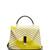 Iside Mignon embroidered-satin shoulder bag
