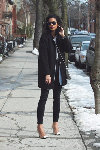 babes in velvet blogger coat tank top top shirt jeans