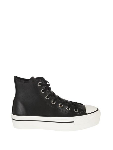 converse sneakers platform sneakers black shoes
