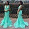 Aliexpress.com : buy spring summer sexy v neck mint green lace mermaid prom dresses 2016 sweep train backless long evening party dress formal gowns from reliable dress wrinkles suppliers on dream wedding bridal boutique | alibaba group