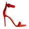 Gianvito rossi sandals :: gianvito rossi portofino red suede sandals | montaigne market