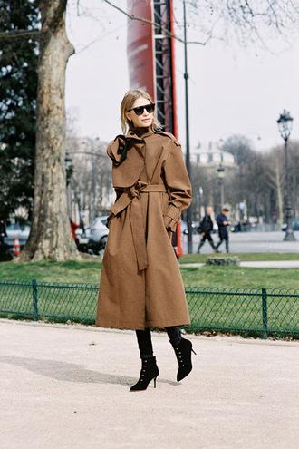 vanessa jackman blogger coat shoes wool coat