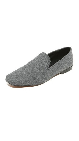 loafers grey shoes