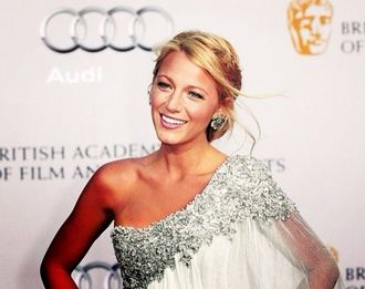 dress dress serena van der woodsen gossip girl blake lively glitter one shoulder sheer