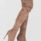 Long story chic thigh-high boots maroon taupe olive grey black - gojane.com
