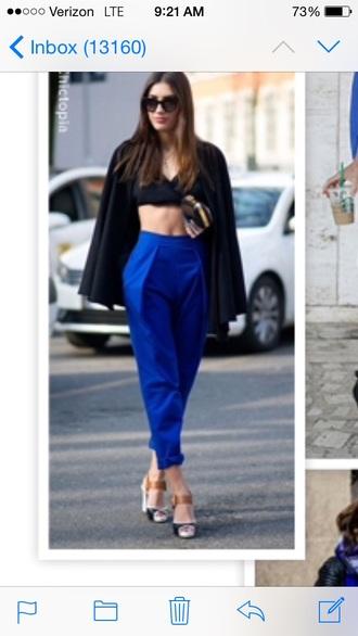 blue trousers blue pants