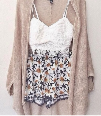 shorts summer cute tumblr girly top