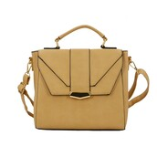 bag,havebest,handbag,TOP HANDLE BAG,apricot,leather