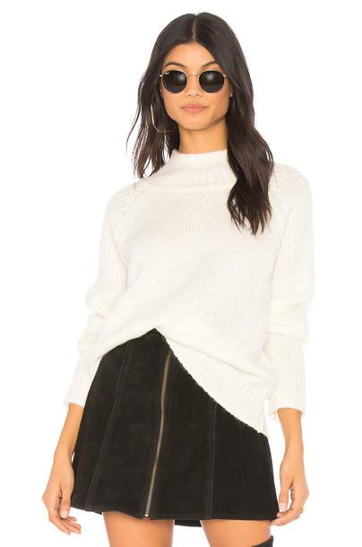 Sanctuary turtleneck white sweater
