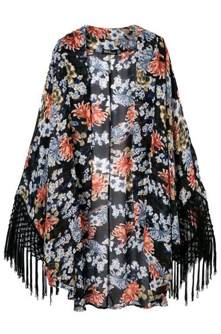 Сшить накидку-кимоно своими руками