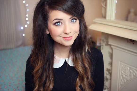 blouse sweater top jumper zoella collar