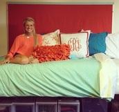 home accessory,collegedorm,dorm room,sorority,storage,college,pillow
