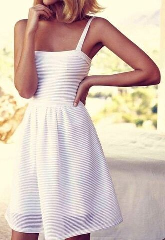 dress white vintage girly clothes pinterest casual dress cute cute dress white dress stripes striped dress sundress southern summer dress cream dress model elegant summer outfits classy dress straps knee length skater dress bodycon dress ribbed dress summer beach short gorgeous short dress mini dress thin straps vintage dress stripy prom graduation dress sleeveless dress