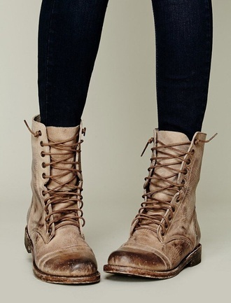 shoes boots combat boots brown combat boots