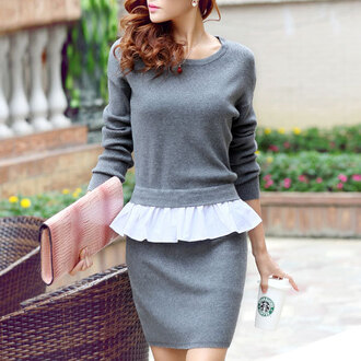 dress sweater women fashion
