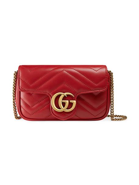 mini metal women bag mini bag leather red