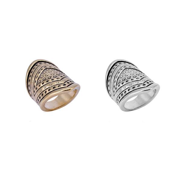Cavalier rings set
