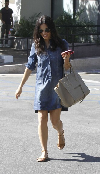 dress shirt dress denim dress denim jenna dewan