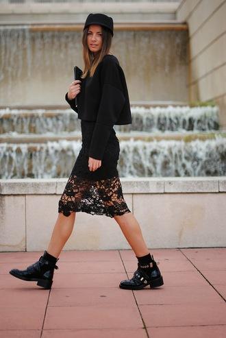 shoes bag skirt hat fashion vibe sweater