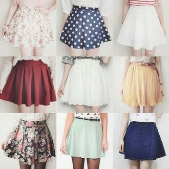 skirt trendy color/pattern style cool