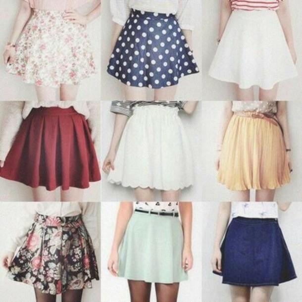 skirt skirt trendy color/pattern style cool
