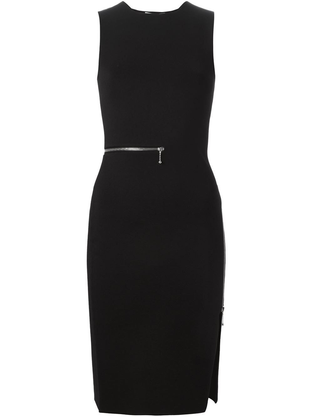 Alexander Wang Zip Detailed Dress - Les Market - Farfetch.com