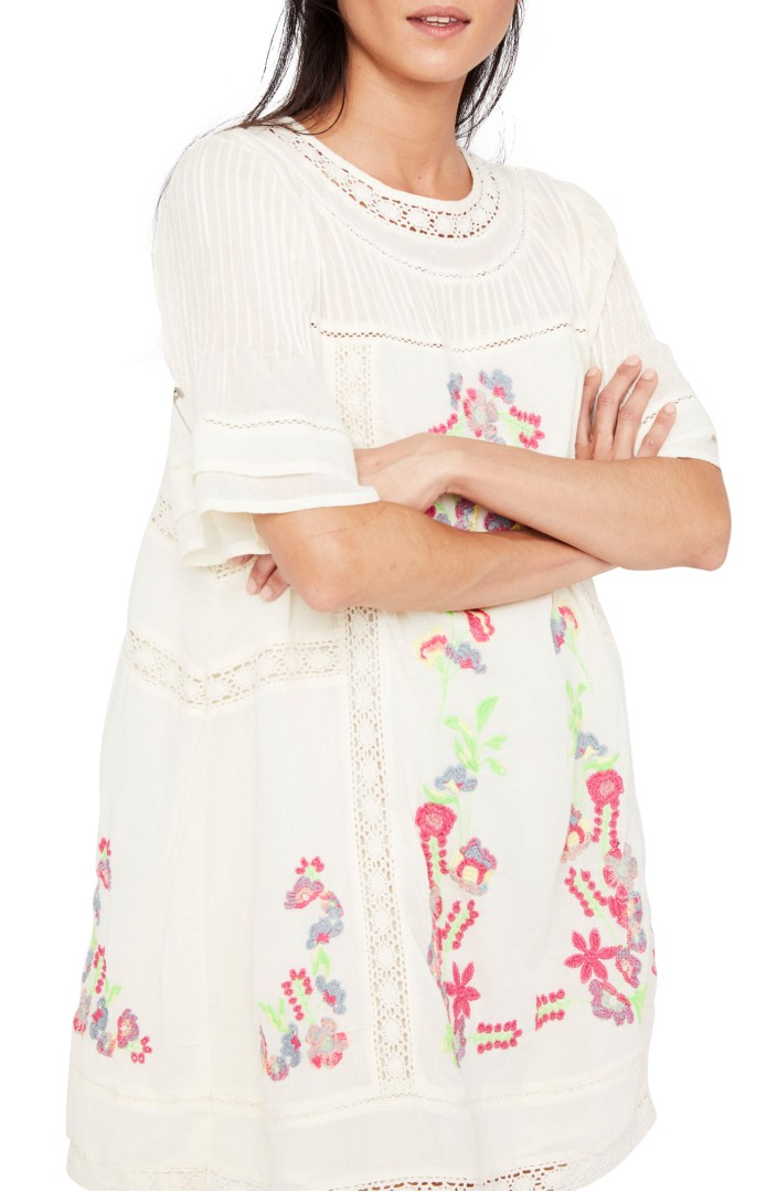Free People 'Perfectly Victorian' Minidress | Nordstrom