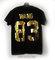 Designer style gold & black wang t