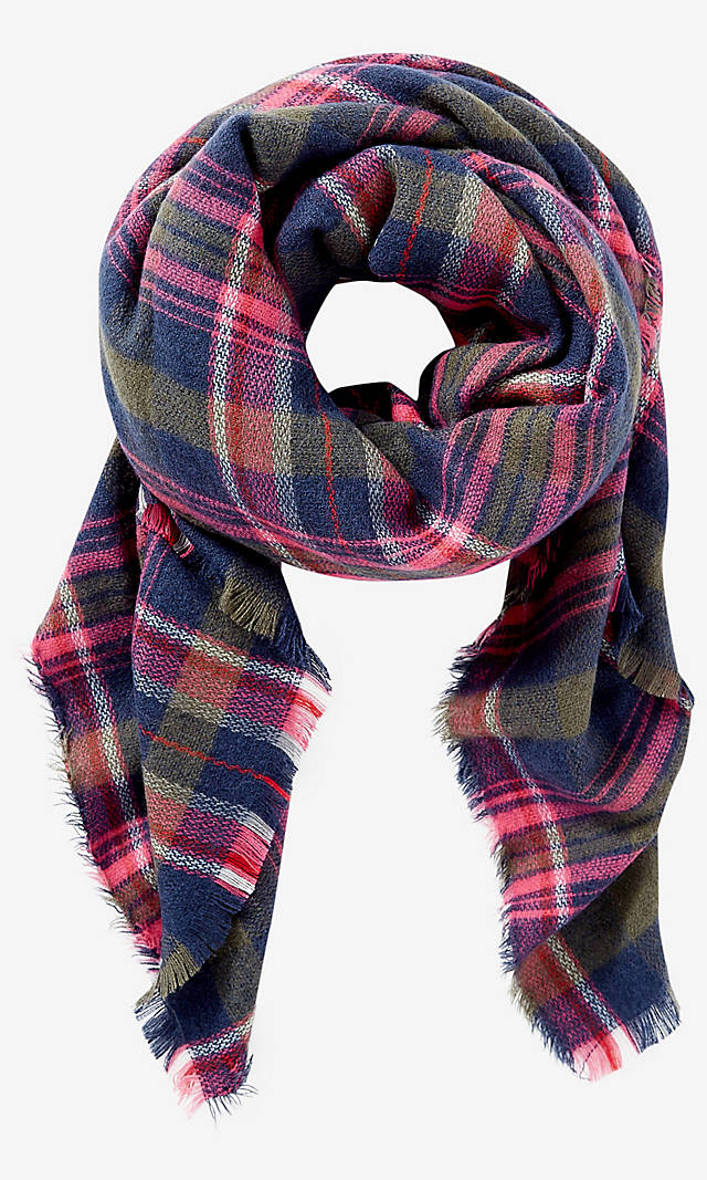 7f7d3eed54368 Plaid Blanket Scarf from EXPRESS