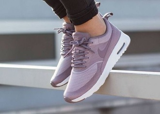 shoes lilac purple shoes nike shoes nike sneakers running shoes lavender purple low top sneakers
