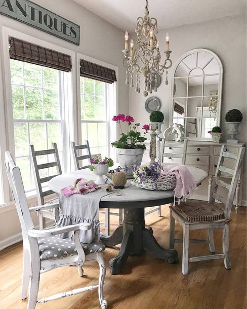Home Accessory Tumblr Table Decor Furniture Chair Dining Room