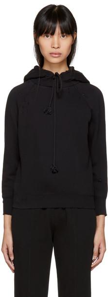 Helmut Lang hoodie black sweater