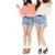 Cool Women High Waisted Oversize Crimping Washed Denim Jeans Shorts Girl Pants | eBay