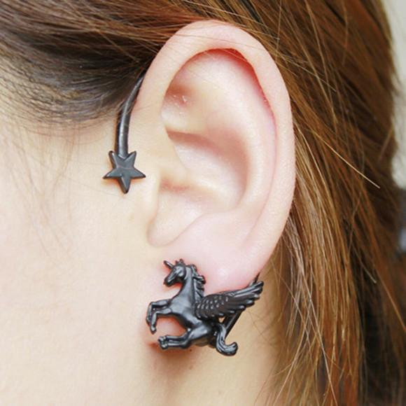 unicorn jewels earrings