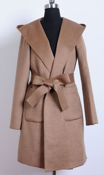 """""""cozy superstar"""" hooded wool coat (3 colors available) – glamzelle"""
