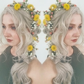 hair accessory,flower crown,flowers headbands,synthetic lace front wigs,uniwigs