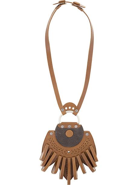 Papieta Laelia necklace - Brown