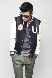 clubwear,menswear,hipster menswear,jacket,mens baseball jacket
