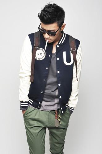 clubwear menswear hipster menswear jacket mens baseball jacket