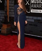 dress,studded dress,black sheer,versace,prom dress,blue dress,versace dress,long dress,elegant dress,lace dress,long sleeve dress,black sheer dress,sexy dress,gown,long prom dress,prom gown,fashion,fall dress
