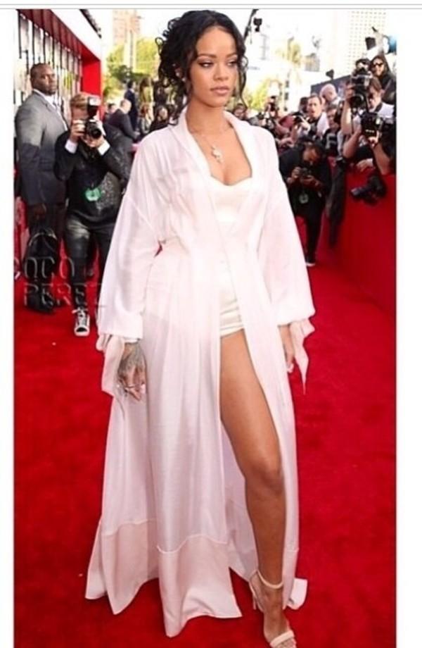 dress rihanna shoes celebrities in white romper