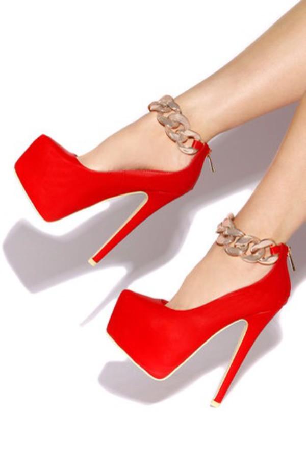 shoes redheels platform shoes pumps
