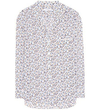 shirt silk top