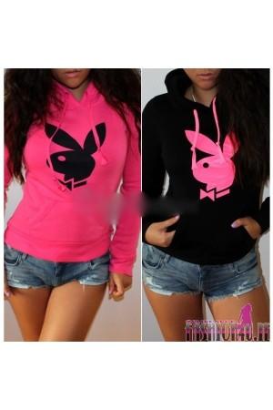 Womens Hoodies neon pink
