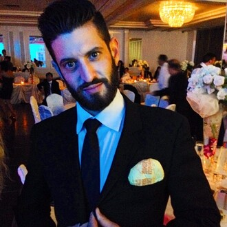 jewels epic meal time epicmook josh elkin hamburger mcdonalds suit black tie wedding clothes wedding accessories