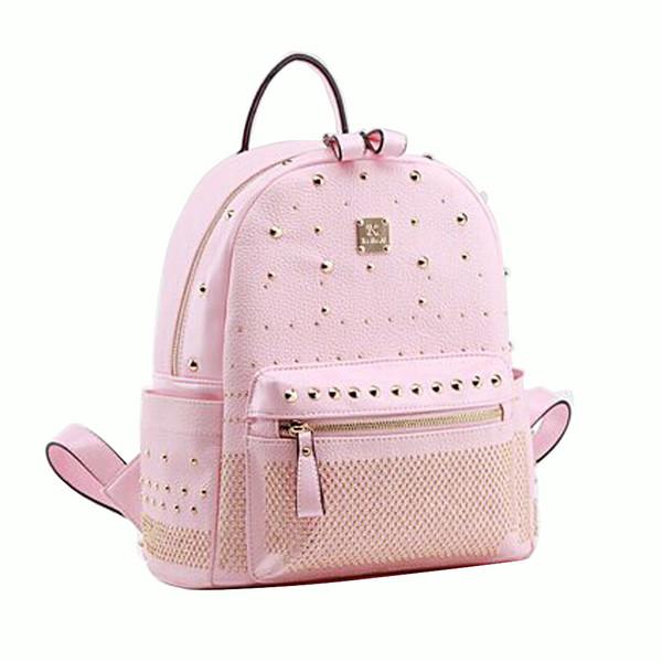 bag backpack fashion pink