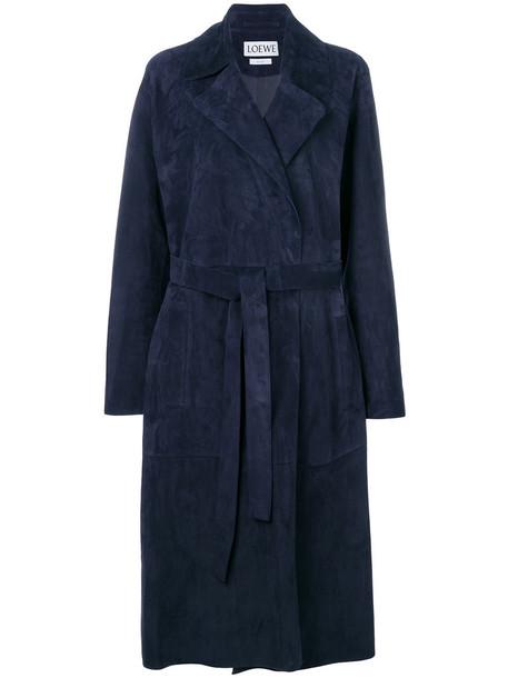 LOEWE coat women blue