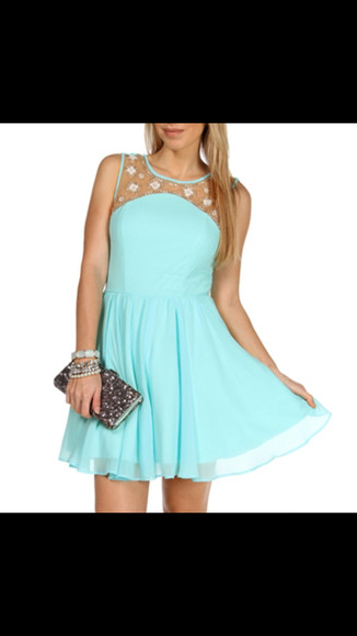 dress homecoming blue