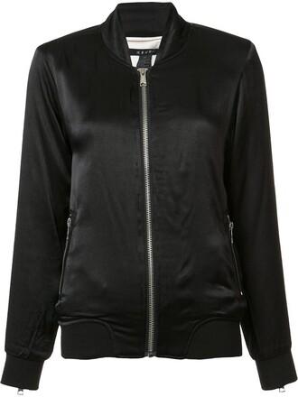 jacket bomber jacket women classic black